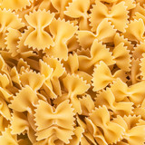 Farfalle bows pasta