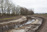 Nature and ecological restoration of a small former canalized river into a meandering stream in the Netherlands, Europe