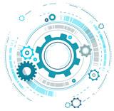 Cogwheels Design - 132515877