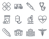 Medicine Icon Outlined - 132521085