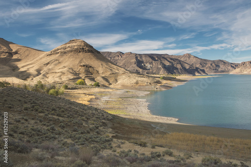 Morning Fall colors at Lake Owyhee
