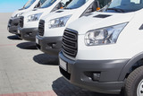 minibuses and vans outside - 132531408