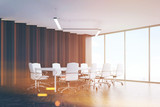 Meeting room corner, toned