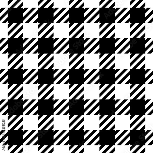 Materiał do szycia Seamless houndstooth pattern wallpaper. Seamfree hounds-tooth vector background.