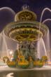 Fountain at Place de la Concorde in Paris France