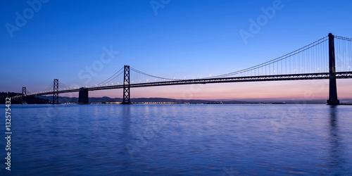 Poster Oakland Bay Bridge, San Francisco, California