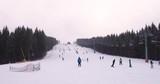 Ski Slope at Mountain Resort