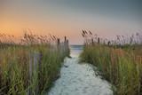 Crossing Dunes at Sunrise