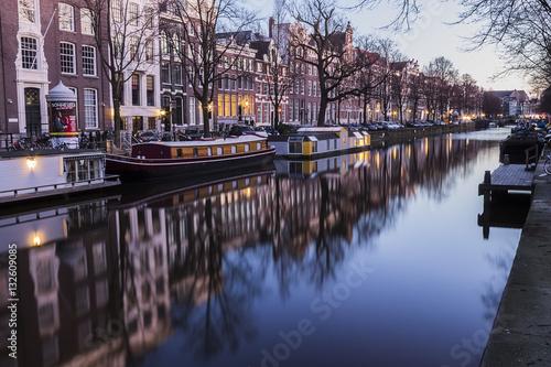 Poster I canali di Amsterdam
