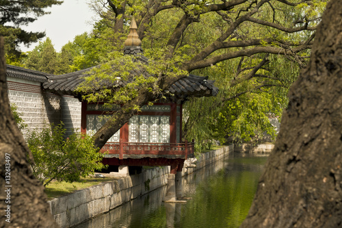 Poster Gyeonghoeru Pavilion of Gyeongbokgung Palace, Seoul, South Korea