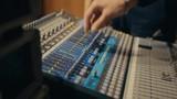 equalizers, sound studio, audio console, mixer, sliders