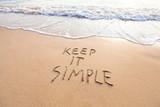 keep it simple - 132618681