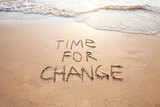 time for change, concept of new, life changing and improvement - 132619083