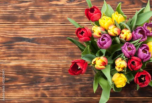 Tulipany obrazy na p tnie fototapety na wymiar obrazy for Yellow wohnzimmertisch