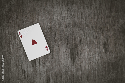 Plakat ace of hearts
