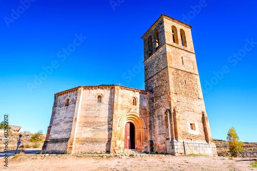 Segovia, Spain - Vera Cruz Church Poster