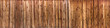 Wood texture plank grain background, wooden desk table or floor panorama - 132634094