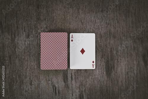 Poster ace of diamonds