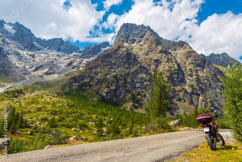 Poster Motorcycle Mountain Trip