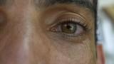 Eyes of Brazilian man