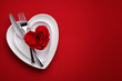 Detaily fotografie Meal on Valentines Day