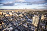 Aerial view of Las Vegas city