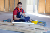 Worker suffering after  on-the-job injury