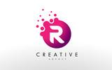 Letter R Logo. R Letter Design Vector - 132675414