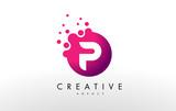 Letter P Logo. P Letter Design Vector - 132675415