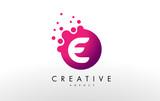 Letter E Logo. E Letter Design Vector - 132675450