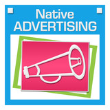 Native Advertising Colorful Squares Inside