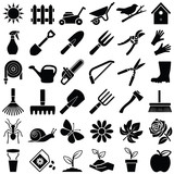 Garden icon collection - vector illustration