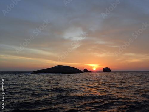 Poster インド洋の日の出