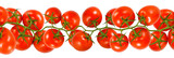 Images of ripe tomatoes closeup.