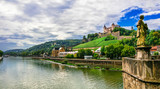 Landmarks and beautiful towns of Germany - Wurzburg