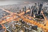 Patrząc z Burdż Chalifa, Dubaj, Zjednoczone Emiraty Arabskie