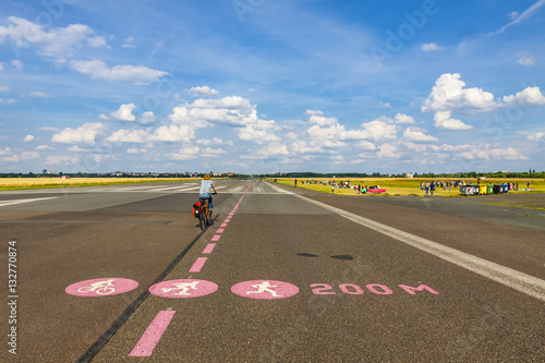 Berlin Tempelhof Airport, former airport of Berlin, Germany © katatonia