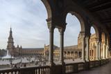 monumental plaza de España de Sevilla, Andalucía