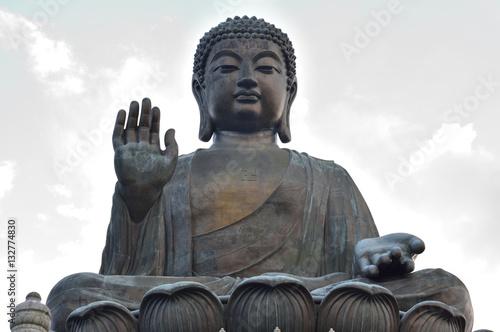 Big Buddha Statue Hong Kong Poster