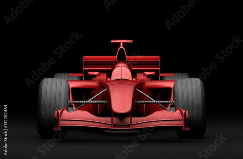 czerwony-bolid-f1,-grafika-3d,-formula,-plakat