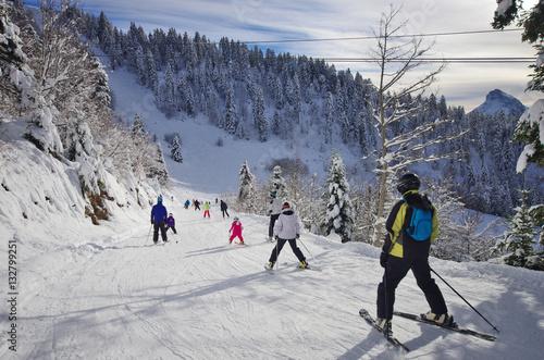 mata magnetyczna sports d'hiver - ski de piste