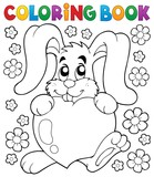 Coloring book Valentine topic 2