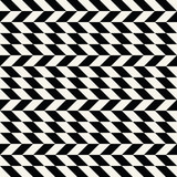 Abstract geometric black and white minimal graphic design print checkered pattern