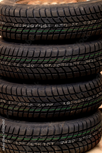 Poster Car tire