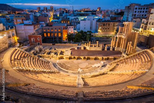 The Roman Theatre in Cartagena, Spain © Leonid Andronov