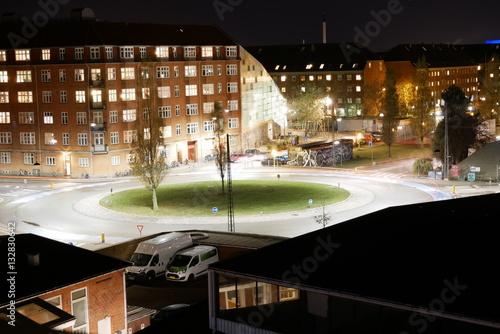 Poster Roundabout in Copenhagen