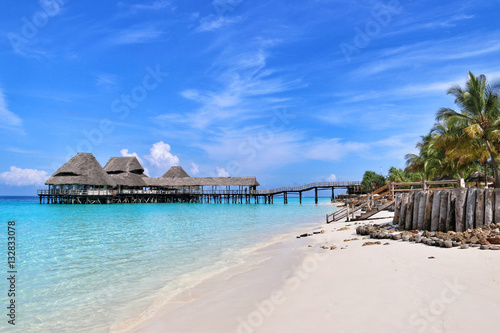 Fotobehang Zanzibar Paradise of Zanzibar