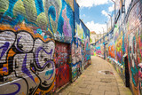 Graffiti street in Gent