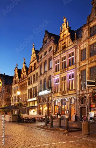 Fotobehang Antwerpen View of Antwerp. Belgium