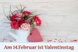 Fototapety Am 14. Februar ist Valentinstag
